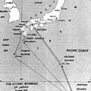Atomic Bombing Of Japan, 1945 Art Print