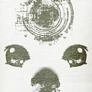 Atomic Dog's Eyes Art Print