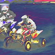 Atv Racing Art Print