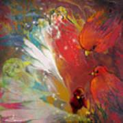 Au Pays Des Oiseaux Art Print