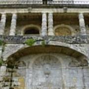 Au Vieux Chateau De Vayres Art Print