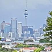 Auckland City C B D Art Print