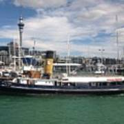 Auckland Harbour Art Print