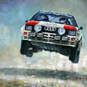 Audi Quattro Gr.4 1982 Art Print