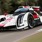 Audi R18 E-tron, Le Mans - 03 Art Print