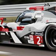 Audi R18 E-tron, Le Mans - 07 Art Print