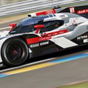 Audi R18 E-tron, Le Mans - 11 Art Print