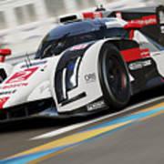 Audi R18 E-tron, Le Mans - 12 Art Print