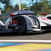 Audi R18 E-tron, Le Mans - 14 Art Print