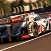Audi R18 E-tron, Le Mans - 18 Art Print