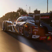 Audi R18 E-tron, Le Mans - 24  Art Print