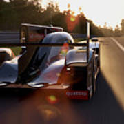 Audi R18 E-tron, Le Mans - 28 Art Print