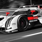 Audi R18 E-tron, Le Mans - 31 Art Print