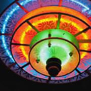 Auditorium Neon Art Print