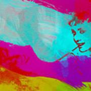 Audrey Hepburn Print by Naxart Studio