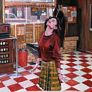 Audrey Horne Twin Peaks Resident Art Print