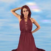 Audrey Michelle 2030054 Art Print