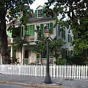 Audubon House Key West Art Print