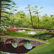 Augusta Golf Course Art Print by Kimber  Butler