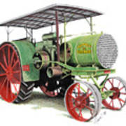 Aultman And Taylor Tractor Art Print