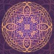 Aum Awakening Mandala Art Print