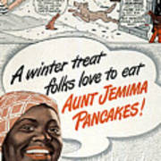 Aunt Jemima Ad, 1948 Art Print