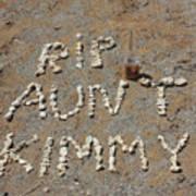 Aunt Kimmy Art Print