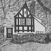 Aunt Vizy's House Art Print