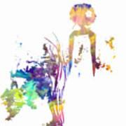 Aurora Yellow Art Print