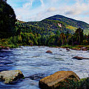 Ausable And Whiteface Art Print
