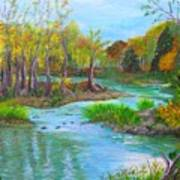 Ausable River Art Print