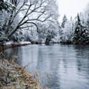 Ausable Winter Art Print