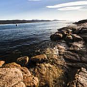 Australian Bay In Eastern Tasmania Art Print