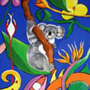 Australian Koala Art Print
