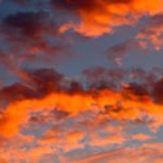 Australian Sunset Art Print