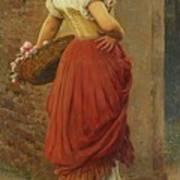 Austrian A Stolen Glance Art Print