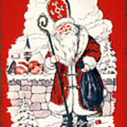 Austrian Christmas Card Art Print