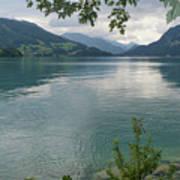 Austrian Lake Art Print