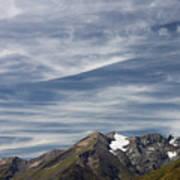 Austrian Sky Art Print
