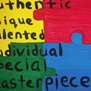 Autism Art Art Print