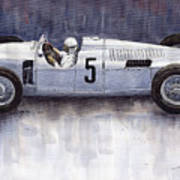 Auto Union 1936 Type C Art Print