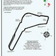 Autodromo Nazionale Monza Art Print