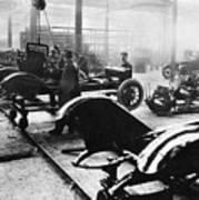 Automobile Manufacturing Art Print