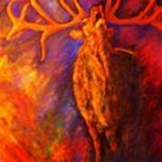 Autum-serenade Art Print
