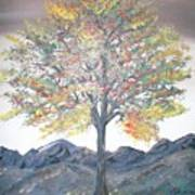Autum Tree Art Print