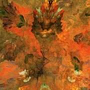 Autumn Abstract 103101 Art Print