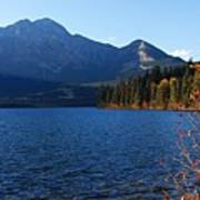 Autumn Afternoon On Pyramid Lake Art Print
