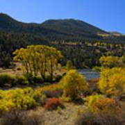 Autumn Along The Rio Grande Art Print
