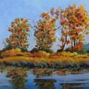 Autumn At Fraser Valley Art Print