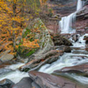 Autumn At Kaaterskill Falls Art Print